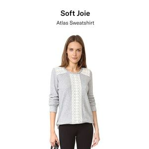 Soft Joie Atlas gray sweatshirt size small